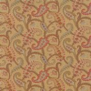 Moda Atelier by 3 Sisters - 3544 - Floral Paisley on Tan - 44054 12 - Cotton Fabric
